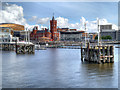 ST1974 : Cardiff Bay by David Dixon