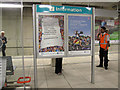 TQ3884 : Paralympics notices at Stratford International by Stephen Craven