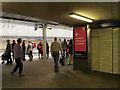 TQ3884 : Olympic signage at Stratford International by Stephen Craven