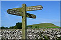 SK1256 : Junction of paths south of Narrowdale Hill by Neil Theasby