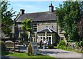 "SK1355 : ""The George"" in Alstonefield by Neil Theasby"
