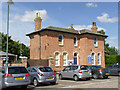 SK7954 : Station Master's house, Castle Station  by Alan Murray-Rust