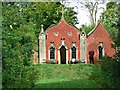 SO8610 : The Red House, Rococo Garden, Painswick by Brian Robert Marshall