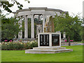 ST1877 : War Memorials, Alexandra Park by David Dixon