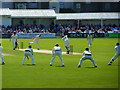 TA0389 : Scarborough Festival cricket - Yorkshire versus Gloucestershire by Ruth Sharville