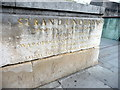 TQ3080 : Strand Underpass Sign, Waterloo Bridge, London SE1 by Christine Matthews