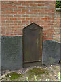 SK7954 : Cast iron gravestone, St Mary's churchyard  by Alan Murray-Rust