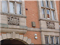 SK7953 : The Old Post Office, detail by Alan Murray-Rust