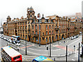 SJ8497 : Former Fire Station, London Road by David Dixon