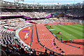 TQ3784 : Wheelchair racing, Olympic Stadium by Oast House Archive