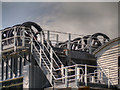 SJ6475 : Anderton Boat Lift, Winding Gears by David Dixon