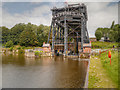 SJ6475 : Lower Basin, Anderton Boat Lift by David Dixon