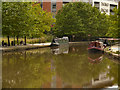 SJ8397 : Bridgewater Canal, Castlefield by David Dixon