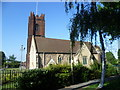 TQ4578 : St Nicholas Church, Plumstead seen from St Nicholas Gardens by Ian Yarham