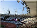 TQ3784 : A nearly empty Olympic Stadium by Paul Gillett