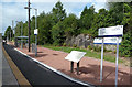 NS2983 : Helensburgh Upper Station by Mary and Angus Hogg