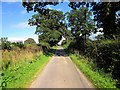 SJ5057 : Woodsfin Lane near Burwardsley by Jeff Buck