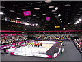 TQ3784 : Inside the Copperbox, Olympic Park by David Anstiss