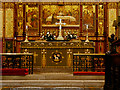 SD7209 : Altar and Redros, Bolton Parish Church by David Dixon