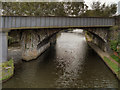 SJ8297 : River Irwell, Railway Bridge by David Dixon