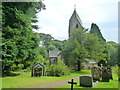 SK1274 : St Margaret's church and churchyard, Wormhill by Ruth Sharville