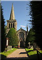 SJ9534 : Christ Church, Hilderstone by Derek Harper
