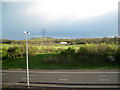 SP2086 : Looking across M6 Toll, M6 and The Bogs to Packington Mountain by Robin Stott