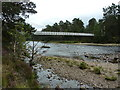 NO1990 : Garbh Allt Shiel footbridge over the River Dee by Alexander P Kapp