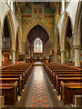 TQ1649 : St Martin's Church, Dorking, Nave and Chancel Arch by David Dixon