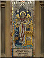 TQ1649 : Jubilee Panel, St Martin's Church, Dorking by David Dixon