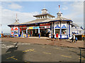 TV6198 : Eastbourne Pier Entrance by David Dixon
