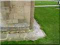 SK7053 : Bench mark, Southwell Minster  by Alan Murray-Rust