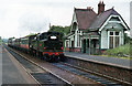 J3886 : Steam train passing Trooperslane station by The Carlisle Kid