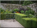 NJ7900 : The NE cornerv of the walled garden at Drum Castle by Stanley Howe