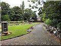 SJ7497 : Peel Green Garden of Remembrance by David Dixon