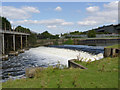 SK8055 : Nether Lock Weir  by Alan Murray-Rust