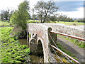 SP2185 : Arched bridge over the River Blythe floodmeadows by Robin Stott