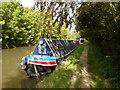 SP6359 : Working Narrow Boat Hadar moored at Weedon Bec by Keith Lodge