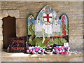 SK3871 : St Mary & All Saints - Well Dressing by Betty Longbottom