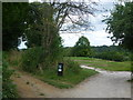 TQ3462 : Paths on to Croham Hurst Golf Course by Ian Yarham