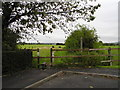 SJ9199 : Stile at Larks Rise (1) by John Topping