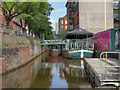 SJ8497 : Rochdale Canal, Village Quarter by David Dixon