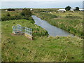 TF6636 : Green Sluice, Heacham Harbour by Richard Humphrey