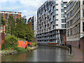 SJ8397 : Rochdale Canal, Manchester City Centre by David Dixon