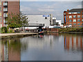 SJ8498 : Rochdale Canal, Piccadilly Basin by David Dixon