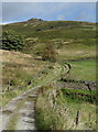 SK2481 : Track below Higger Tor by Andrew Hill