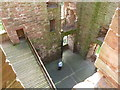 NO5869 : Edzell Castle, Interior by Alexander P Kapp