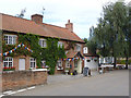 SK7251 : The Full Moon Inn, Morton  by Alan Murray-Rust