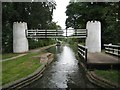 SK1900 : Birmingham & Fazeley Canal: Drayton Footbridge and Swivel Bridge by Nigel Cox
