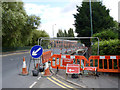 SK5538 : Lenton Lane canal bridge  by Alan Murray-Rust
